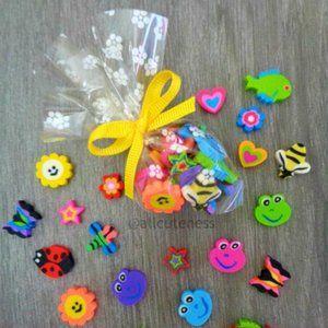 🎀 5 For $25: Cute Mini Erasers